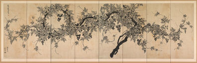Choe Seok-hwan, 'Grapevine', first half of 19th century
