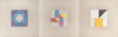 Decio Vieira, 'Três desenhos', 1970