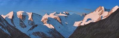 Lukas R. Vogel, 'Bernina-Gruppe am Morgen'