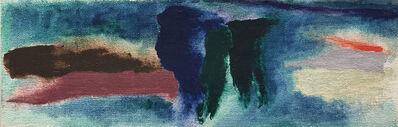 Friedel Dzubas, 'Dark Journey', 1975