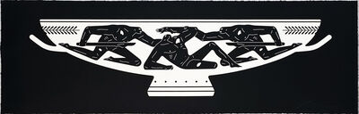 Cleon Peterson, ''End of Empire, Kylix' (black)', 2018