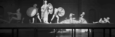 Klaus Kinold, 'Aeginetensaal, Glyptothek, München', 1981