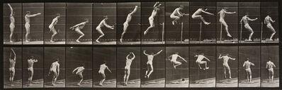 Eadweard Muybridge, 'Animal Locomotion: Plate 161 (Man Leaping)', 1887
