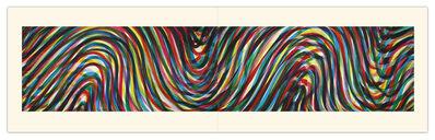 Sol LeWitt, 'Wavy Horizontal Lines (Diptych)', 1996