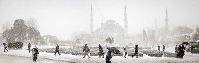Nuri Bilge Ceylan, 'Sultanahmet in Winter, İstanbul', 2004