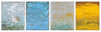 Carole Pierce, 'Elements: Air, Water, Earth-Quadriptych', 2014-2015
