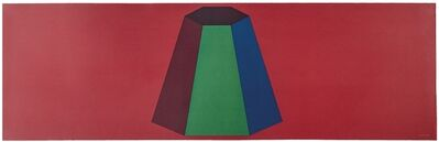 Sol LeWitt, 'Flat top pyramid', 1988