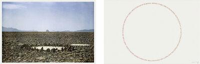 Richard Long, 'Two Sahara Works', 1988