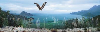 Oleg Kulik, 'Windows Series : Eagle', 2000-2001