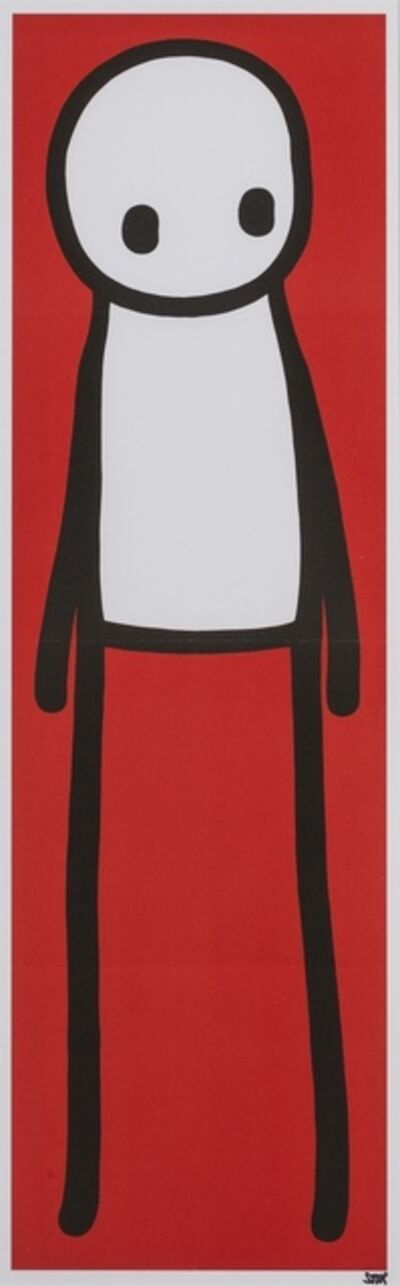 Stik, 'Standing Figure (Red)', 2015