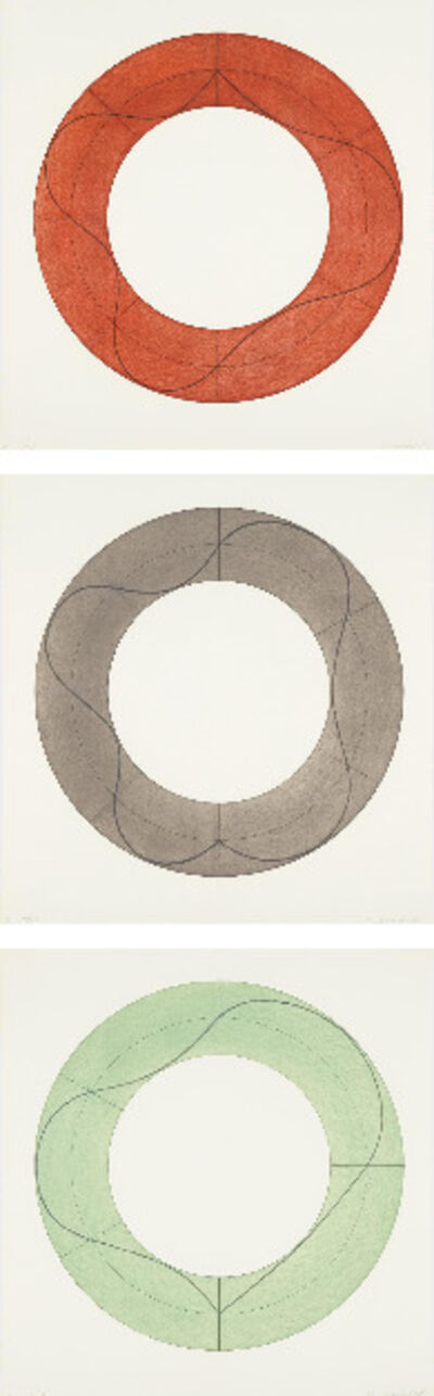 Robert Mangold, 'Ring A; Ring B; and Ring C ', 2008