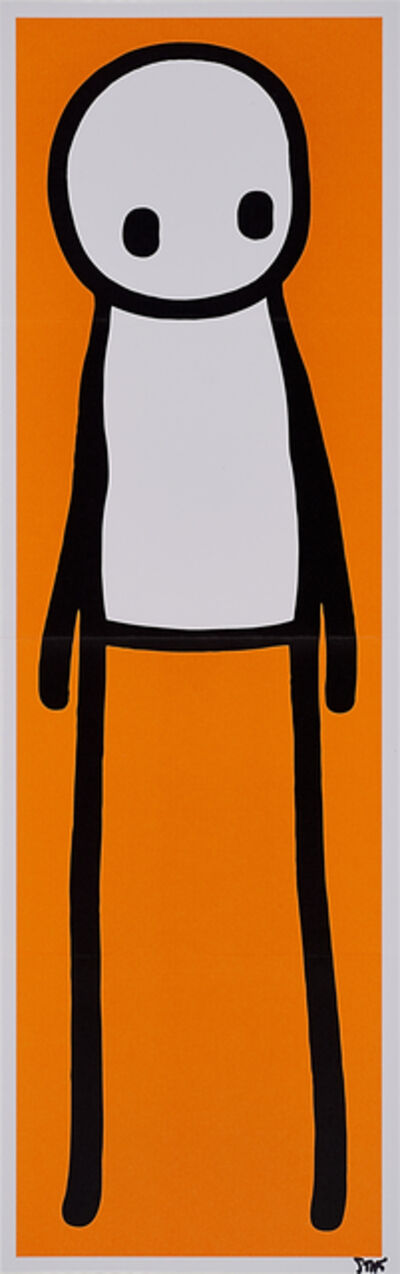 "Stik, 'Standing Figure, Signed Print Together with Signed and Illustrated Book, ""Stik""', 2015/2016"