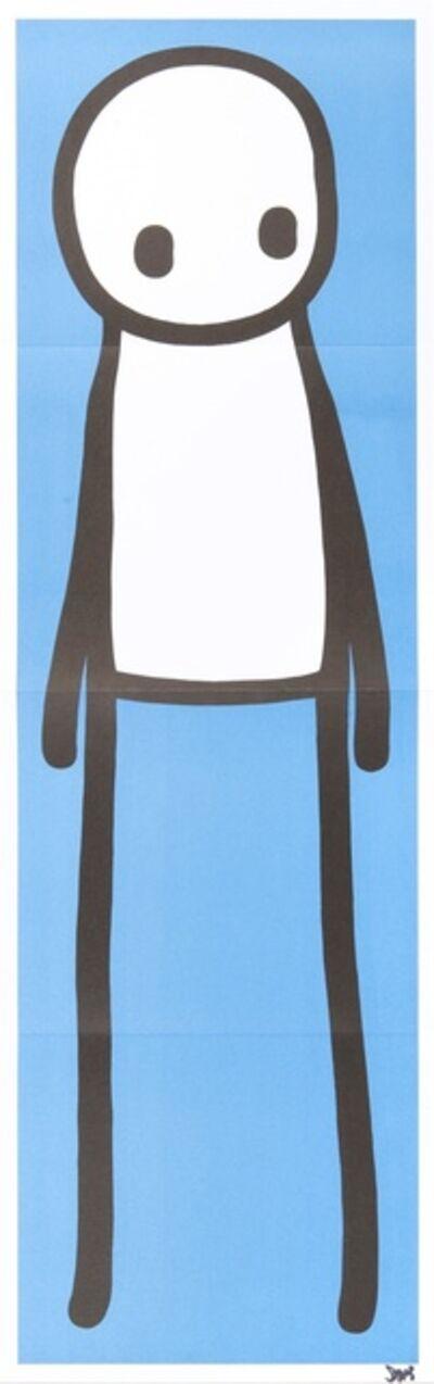 Stik, 'Standing Figure Blue', 2015