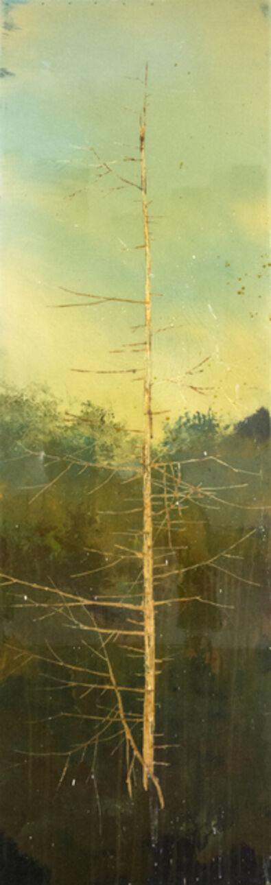 Peter Hoffer, 'Carved Tree Portrait', 2018