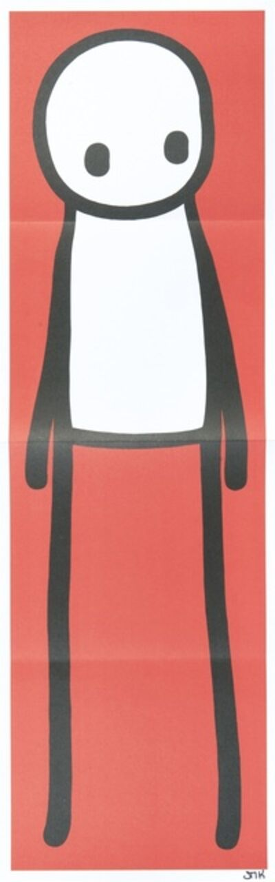 Stik, 'Standing Figure Red', 2015