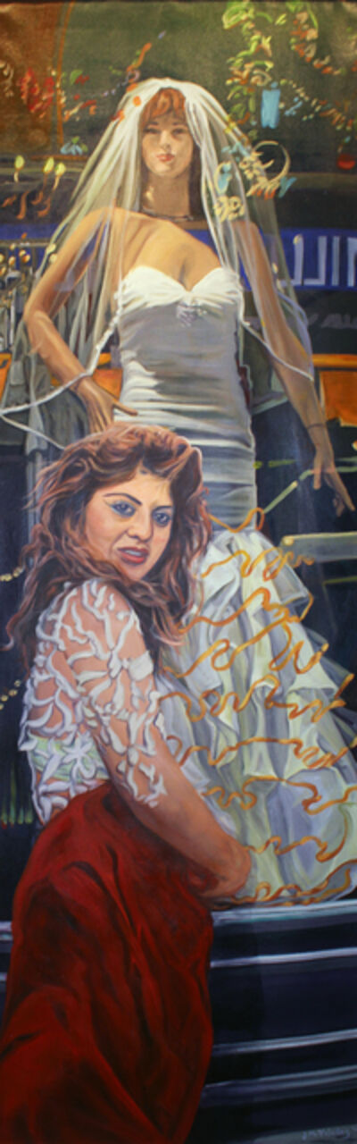 John Valadez, 'Wedding Window', 2012