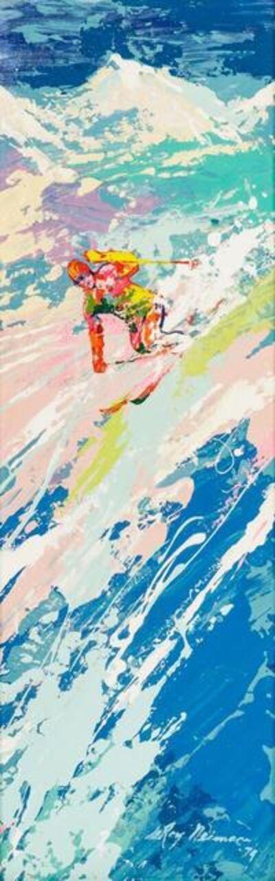 LeRoy Neiman, 'Breaking Trail Above Timberline', 1974