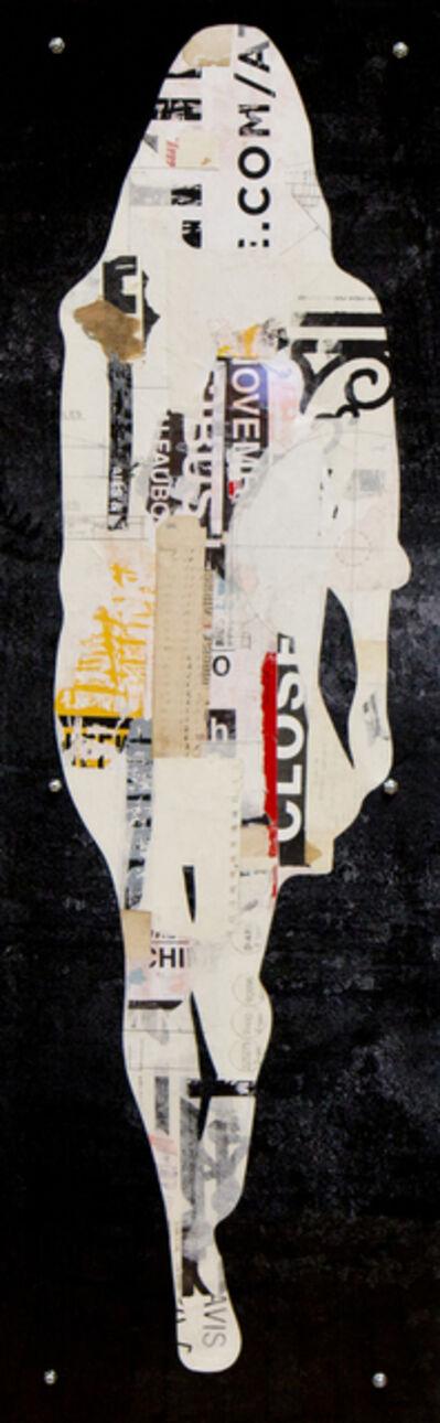 Jane Maxwell, 'Single Walking Girl-Black'