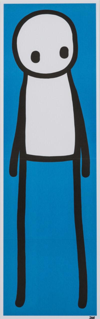 Stik, 'Standing Figure (Blue)', 2015