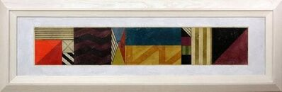 Gregg Robinson, 'Large Modernist Geometric Abstract Painting', 1990-1999