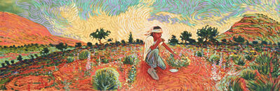 Shonto Begay, 'Gathering Medicine', 2014