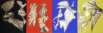 Lynda Benglis, 'Dual Nature (Quad) (four works)', 1991