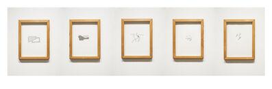 Richard Tuttle, 'Five Set', 1987