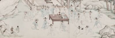 Yu Suk 유숙, '수계도 (Literati Gathering of the Middle People)', 1853