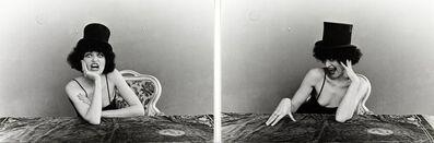 Renate Bertlmann, 'Renee ou Rene - mit Zylinder', 1976