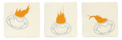 Barbara Schreiber, 'Fire Diary (Portuguese Cups) ', 2020