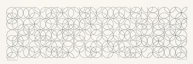 Bridget Riley, 'Composition With Circles 2', 2001