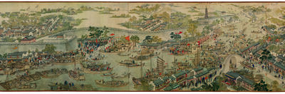 Xu Yang 徐揚, '고소번화도 (Prosperous Suzhou) ', 1759