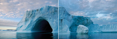 James Balog, 'Greenland Isfjord Diptych, 2006', 2015