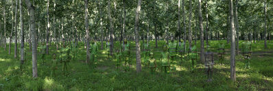 Liu Bolin, 'Forest', 2013