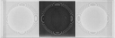 Hector Ramirez, '3 Esferas de Nucleo Radiante', 2015