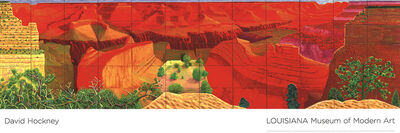 David Hockney, 'A Closer Grand Canyon', 2011