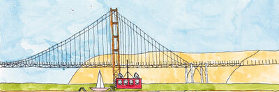 James Miles, 'Golden Gate', 2014