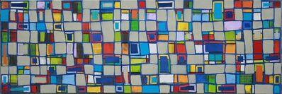Petra Rös-Nickel, 'Pattern Blue 15_1', 2017