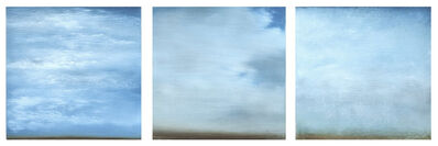 Carole Pierce, 'Spring Clouds-Triptych', 2014