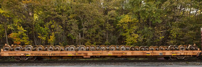 "Stephen Mallon, 'Passing Freight ""CSX 9948363 Wheel Set""', 2019"