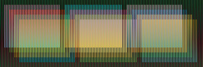 Carlos Cruz-Diez, 'Color Aditivo Serie Cubagua 1', 2015