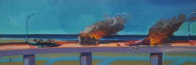 Carlos Almaraz, 'Longo Crash', 1982
