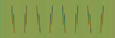Carlos Cruz-Diez, 'Color al Espacio Serie Churum 2', 2015