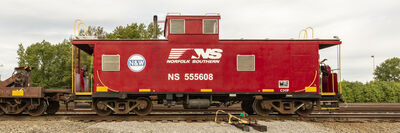 Stephen Mallon, 'NS 555608 Caboose', 2019