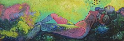 Vladimir Cora, 'Reposa en las rocas', 1992