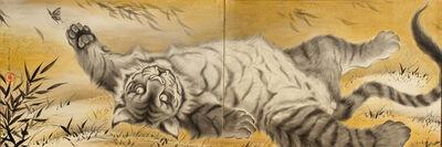 Ryoko Kimura, 'Gorogoro Tora Zu – A Purring Tiger', 2018