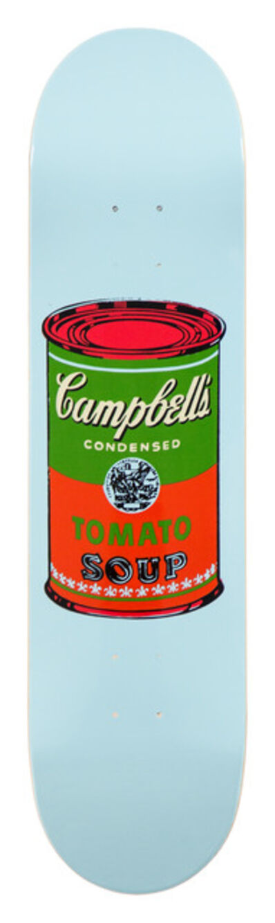 Andy Warhol, 'Campbell Soup Skate Deck (Red)', 2016