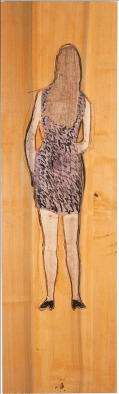 Stephan Balkenhol, 'Rückenrelief Frau', 1997