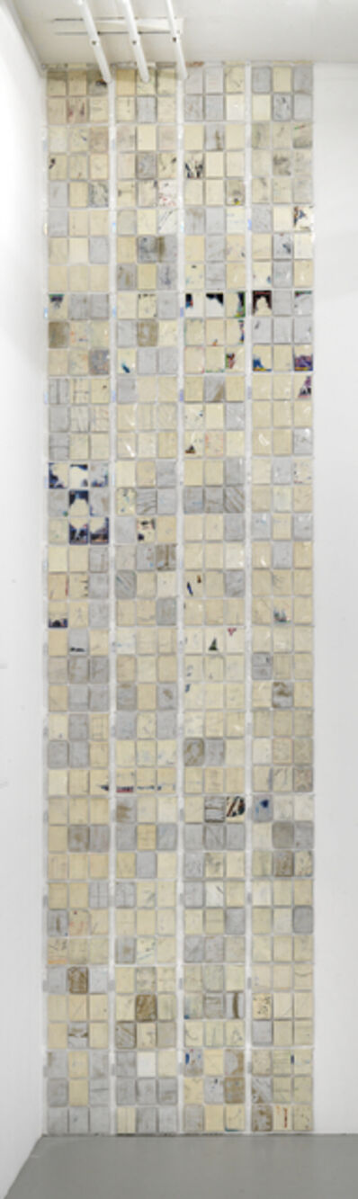 Norm Paris, 'Erased Cards (Tower)', 2019