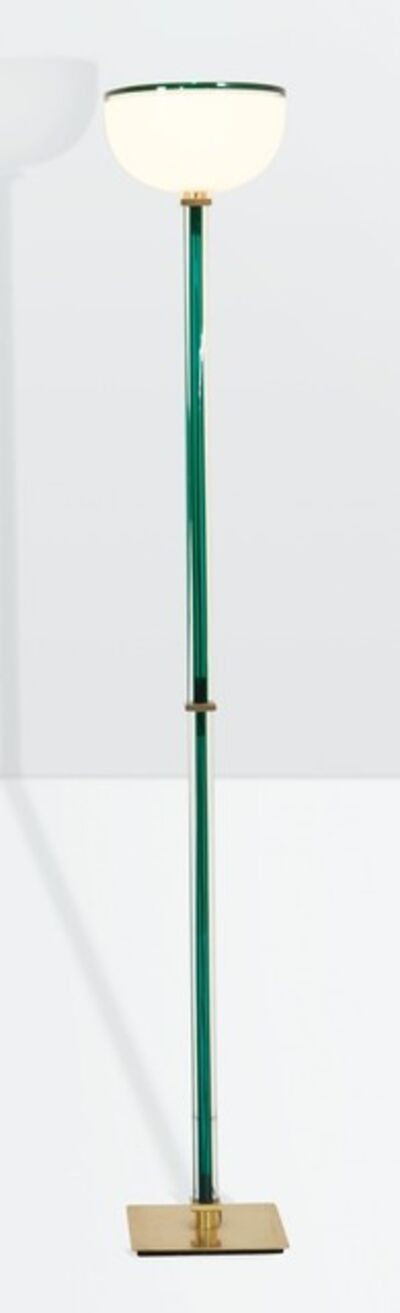 Venini, 'a Tolboi floor lamp in hand-blown glass', ca. 1985